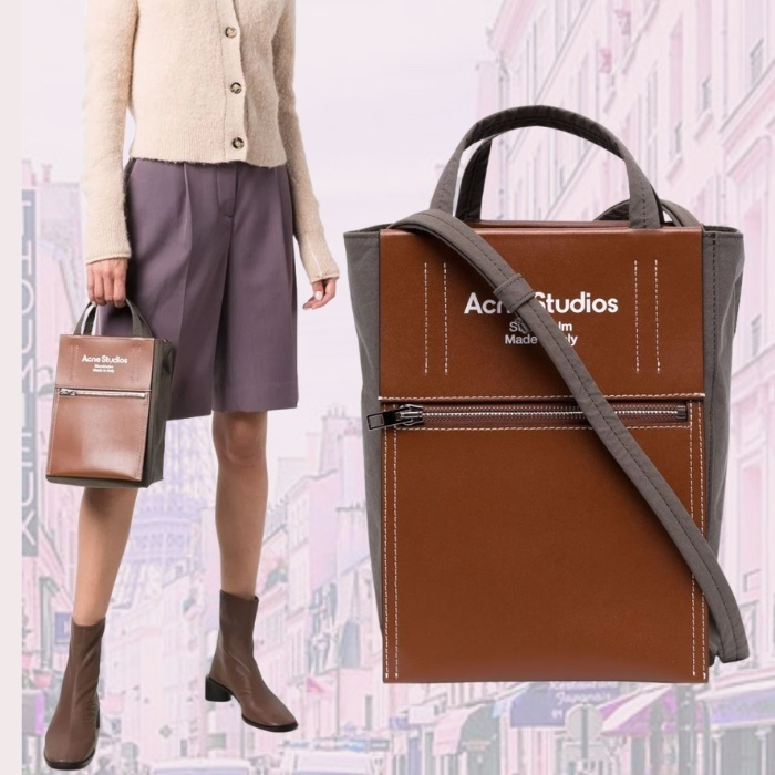 ACNE STUDIOS BAKER OUT ロゴ入り 2WAY トート バッグ (Acne/トートバッグ) 72480938