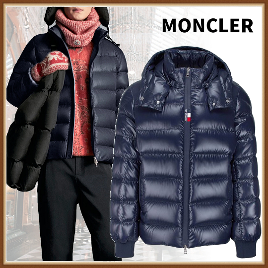 21AW【MONCLER】Cuvellier リブ袖 メンズダウン (MONCLER/ダウンジャケット) G20911A0000268950742