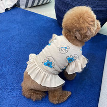 MONCHOUCHOU(モンシュシュ) ペット(犬猫)服 MONCHOUCHOU モンシュシュ TEN YEARS YOUNG DOG Frill Top 2色