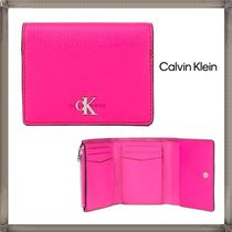 CALVIN KLEIN JEANS TRIFOLD CK ロゴ 三つ折り ウォレット