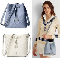 Ralph Lauren★Mini Debby II Plaid Quilted Bag (追跡付き)