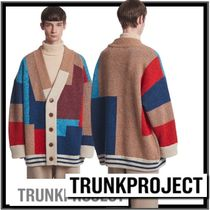 SEVENTEEN着用☆TRUNK PROJECT★Color Mixed Wool Cardiga.nレア