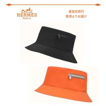 【HERMES】Cooper bucket hat◇クーパーバケット ハット メンズ
