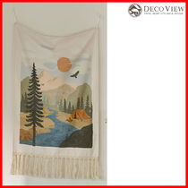 DECO VIEW(デコヴュー) ★Camping Landscape Fabric Poster