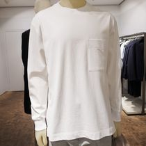 """COS(コス) Tシャツ・カットソー """"COS MEN"""" RELAXED-FIT LONG-SLEEVE T-SHIRT WHITE"""