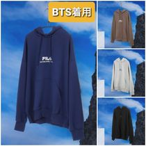 BTS着用新作★LOOSE FIT ONE POINT LOGO HOODIE★フーディ