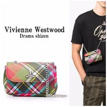 Vivienne Westwood*チェック クラッチバッグ*関税込*国内発送