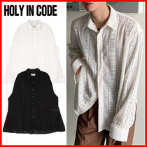 HOLY IN CODE(ホーリーインコード)★ Legacy Lace Shirt 2色