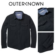 【Outer known】大人気!BLANKET シャツ−Pitch Black