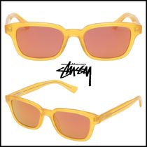 [STUSSY] ◆ OWEN SUNGLASSES Frosted Yellow ◆