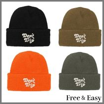 USA発 R.H.取扱*Free & Easy*DON'T TRIP  キャップ ロゴ/4色