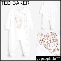 TED BAKER(テッドベーカー) ベビーロンパース・カバーオール *TED BAKER* Born In 2021 スリープウェア (0-24ヵ月)