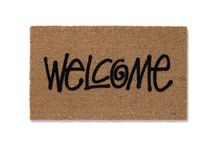 """Stussy """"WELCOME"""" Mat"""
