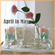 April in May【送料込】人気*フラワーグラスBlossom mood Goblet