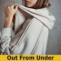 Urban Outfitters(アーバンアウトフィッターズ) アウターその他 【新着】Out From Under Houston フード付きカーディガン