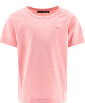 Acne(アクネ) キッズ用トップス Acne Studios T-shirts and Polos Pink (2NH173BLUSH PINK)