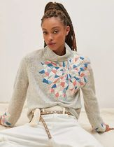 Anthropologie限定☆Quilted Patchwork Turtleneck Sweater