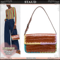 21AW☆送料込【STAUD】 Tommy コントラストステッチ バッグ