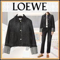 21AW◆LOEWE◆洗練されたディテール◆Button jacket in denim