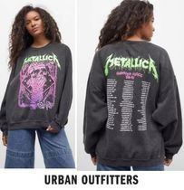 Urban Outfitters(アーバンアウトフィッターズ) スウェット・トレーナー 【URBAN OUTFITTERS】Metallica Glitter One Crew Neck Sweatshi