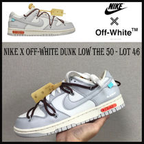 Nike x Off-White ★Dunk Low The 50 - Lot 46 ★人気話題コラボ