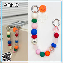 ARNO(アルノ) iPhone・スマホケース 【ARNO】beads strap iPhone Galaxy Case (Colorful Smile)