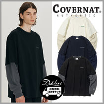 COVERNAT Layered Authentic Logo Long Sleeves HM893