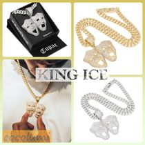 King Ice(キングアイス) ネックレス・チョーカー 送料込【King Ice】*2PACコラボ SMILE&CRYLATERネックレス