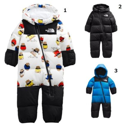 THE NORTH FACE(ザノースフェイス) べビーアウター 可愛い☆THE NORTH FACE☆INFANT NUPTSE ONE-PIECE