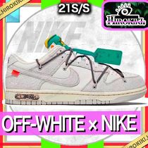 【20】 NIKE DUNK LOW × OFF-WHITE 1 OF 50 オフホワイト