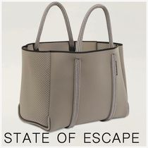 State of Escape(ステイトオブエスケープ) トートバッグ 【State of Escape】City East West Tote トートバッグ ポーチ付