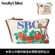 See by Chloe(シーバイクロエ) メイクポーチ 【関送込】◆See by Chloe◆コスメティックポーチ/化粧ポーチ