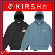 [KIRSH] MIDDLE CHERRY PATCHWORK HOODY/2色/兼用 ◆追跡付