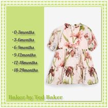TED BAKER(テッドベーカー) ベビーワンピース Baker by Ted Baker★フローラル ティアードワンピース