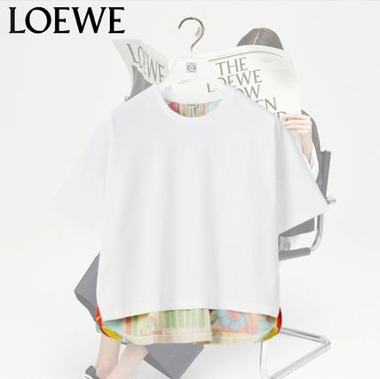 *FW21* LOEWE Doll house print T in cotton & silk Tシャツ