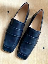 """☆""""COS""""コス新作☆SQUARE-TOE LEATHER LOAFERS"""