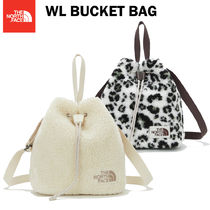 THE NORTH FACE ★ WL BUCKET BAG ★ IVORY / Leopard 2色