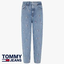 Tommy Hilfiger★ハート刺繍HIGH RISE  TAPERED JEANS