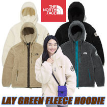 【THE NORTH FACE】PLAY GREEN FLEECE HOODIE