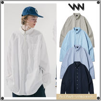 WV PROJECTのThe overfit cotton shirts 全5色