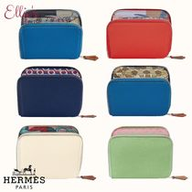HERMES エルメス★シルクインコンパクト★Silk'In Compact★財布