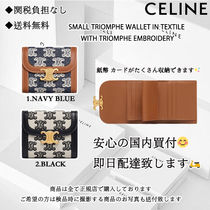 CELINE 送料/関税込 SMALL TRIOMPHE WALLET お財布 三つ折り