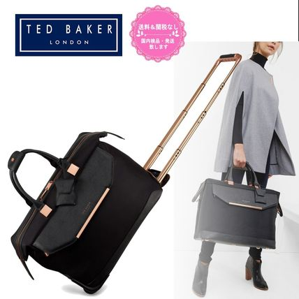 TED BAKER(テッドベーカー) スーツケース 【TED BAKER】ALBANY キャリー付きボストンバッグ 33L