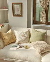 【DECO VIEW】Cozy Flower Cushion Cover