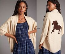 Anthropologie限定☆Horses Cable-Knit Cardigan