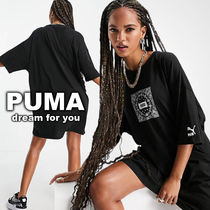 *PUMA*off beat paisley Tシャツワンピ(送料/関税 込み)