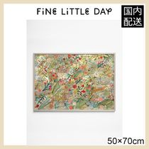 ★Fine Little Day★FLOWERS Poster・50×70㎝★ 北欧ポスター