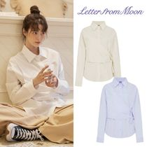 【Letter from Moon】french wrap SHIRTS