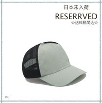 RESERVED(リザーブド) キャップ 【海外限定】関税込み☆RESERVED  トラッカー キャップ