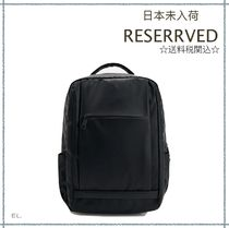 RESERVED(リザーブド) バックパック・リュック 【海外限定】関税込み☆RESERVED ラップトップ バックパック
